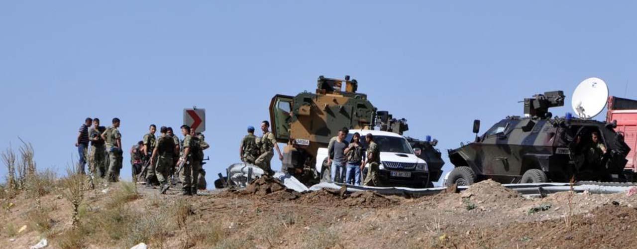 """مقتل جنديين تركيين بهجوم لـ """"ب ك ك """""""