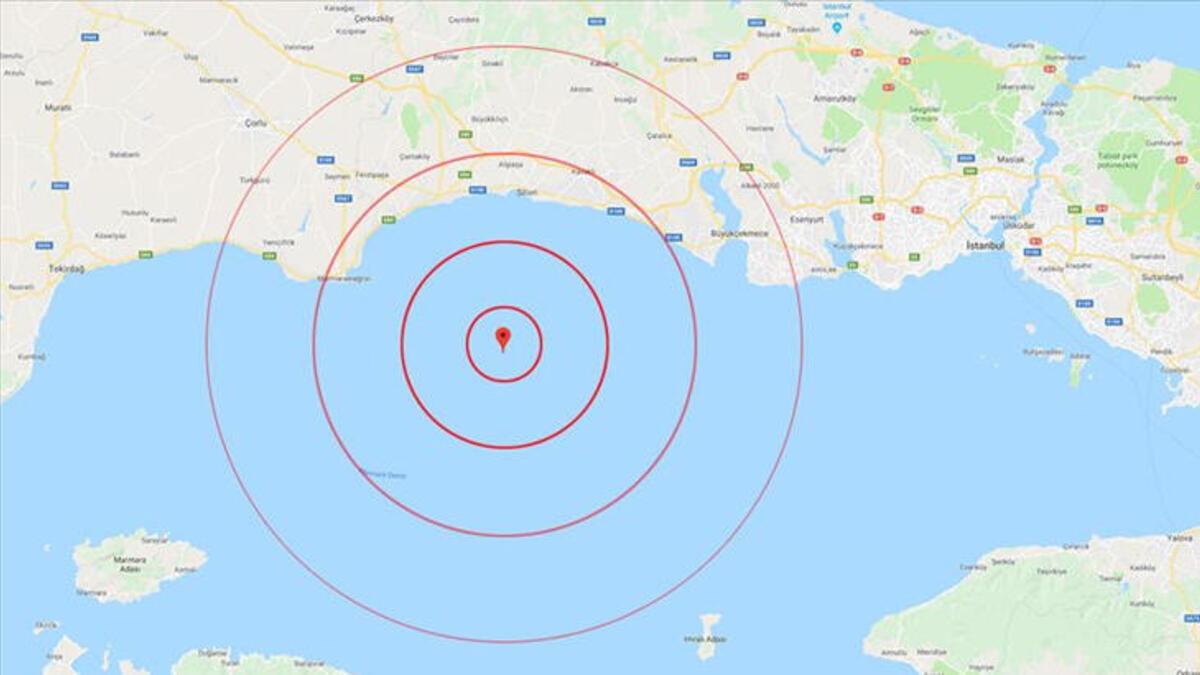 آفاد التركية تعلق على زلزال اسطنبول