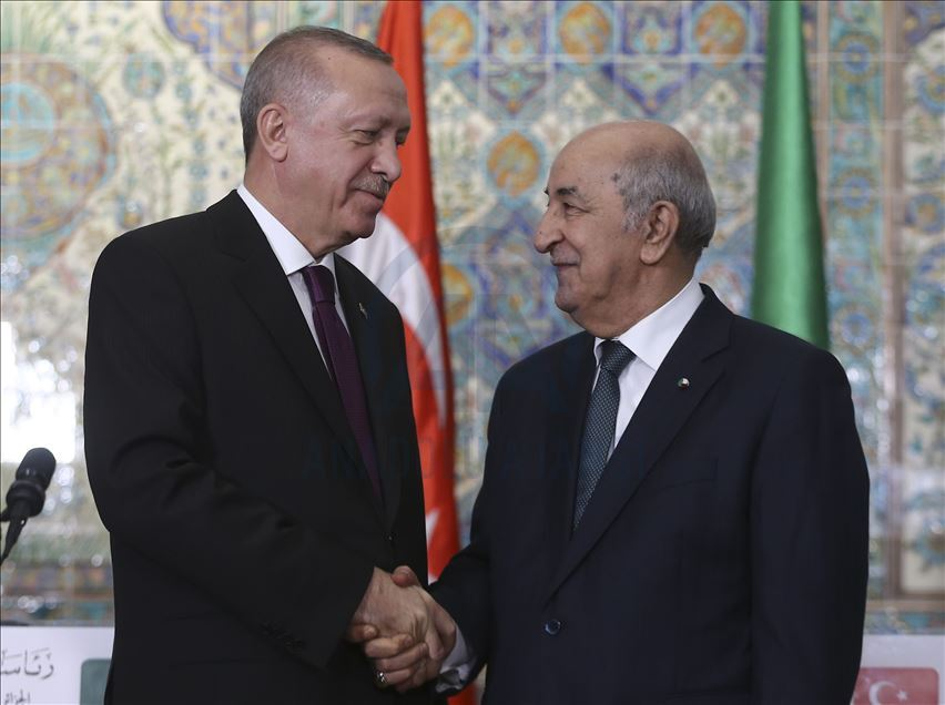 اتفاق جزائري تركي على تنفيذ مخرجات مؤتمر برلين حول ليبيا