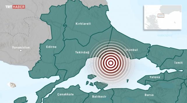 زلزال قوي يضرب مدينة اسطنبول