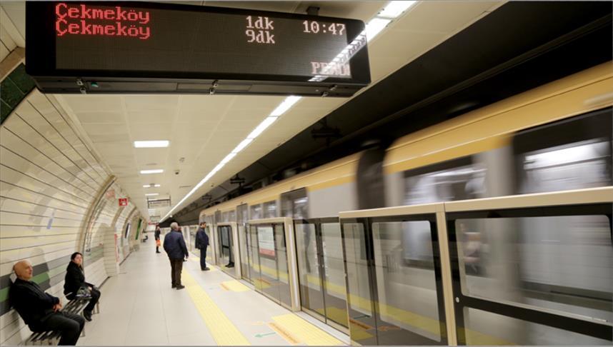 المواصلات العامة في إسطنبول استُخدِمت أكثر من مليار مرة خلال عام 2019