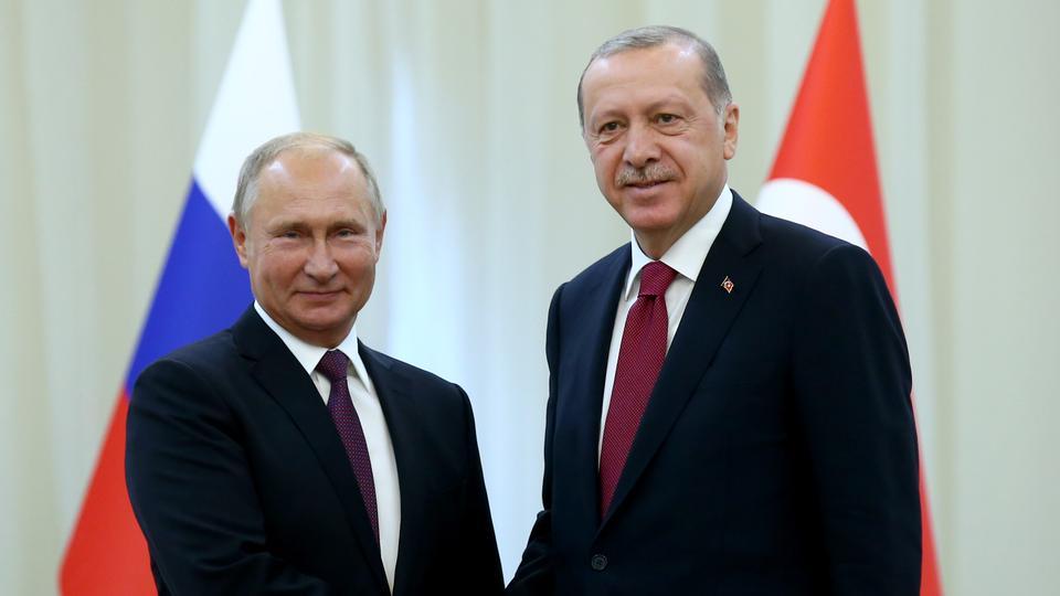 """أردوغان وبوتين يدشنان """"السيل التركي"""" من إسطنبول"""