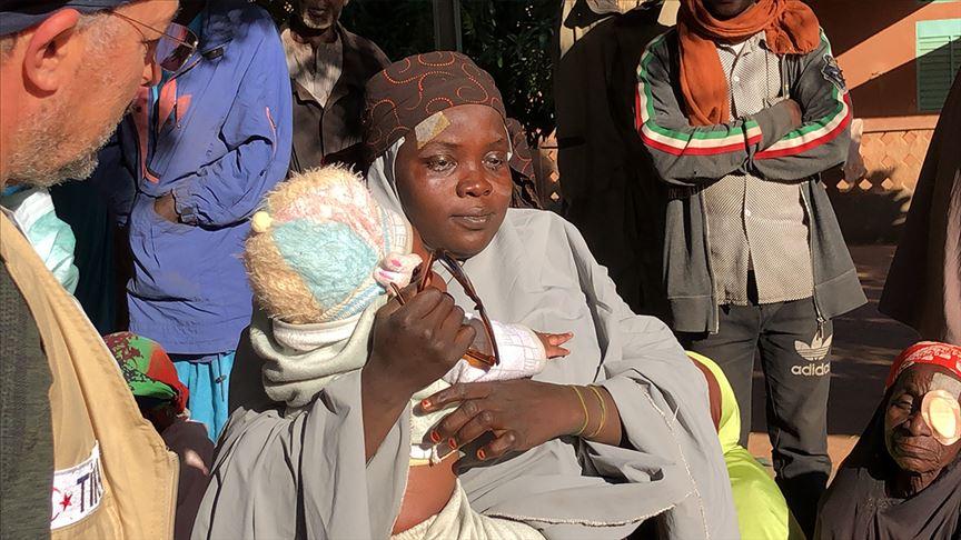 فرحة لا توصف لأم نيجيرية تستعيد بصرها على يد أطباء أتراك