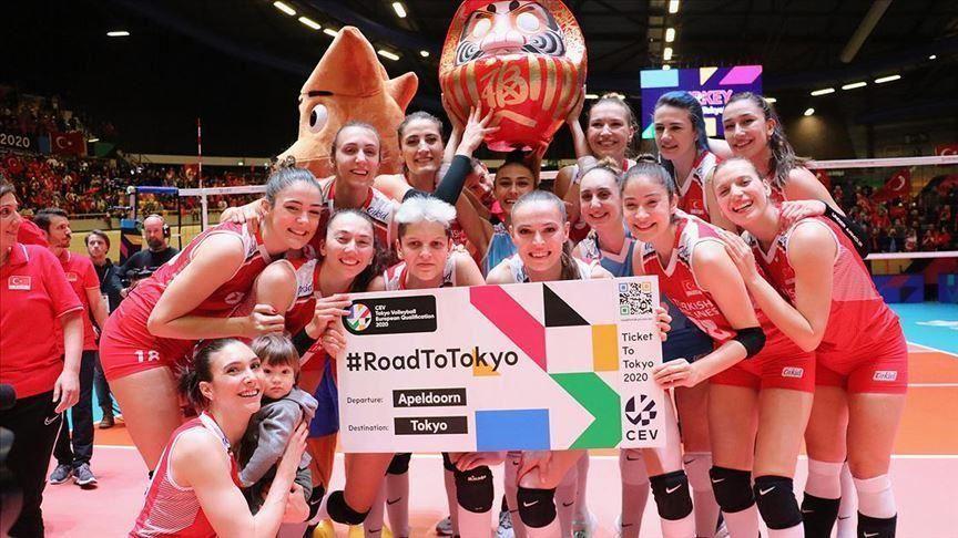 أردوغان يهنئ سيدات تركيا بالتأهل لأولمبياد طوكيو 2020