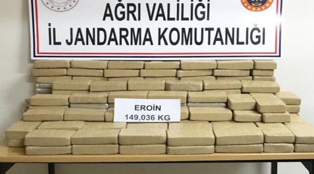 """تركيا.. إحباط محاولة إدخال 149 كغ من """"الهيرويين"""" قادمة من إيران"""