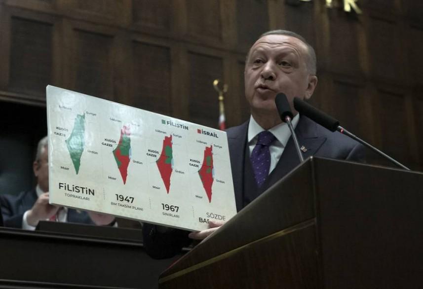 """أردوغان: """"صفقة القرن"""" مجرد وهم لن نسمح بتحقيقه"""