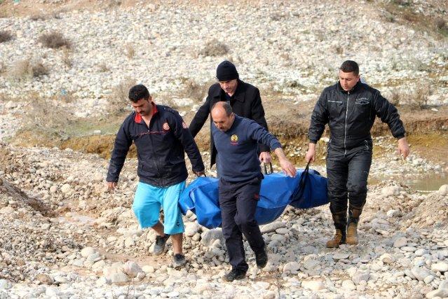 غرق لاجئ سوري وطفله في نهر بولاية كهرمان مرعش أثناء رحلة صيد