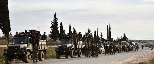 صحيفة تركية: قوات النظام تقترب من نقطة المراقبة التركية في سراقب