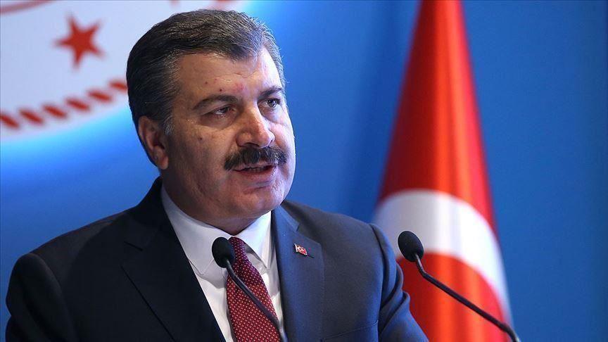 وزير الصحة التركي يعلن إحصائية جديدة لفيروس كورونا