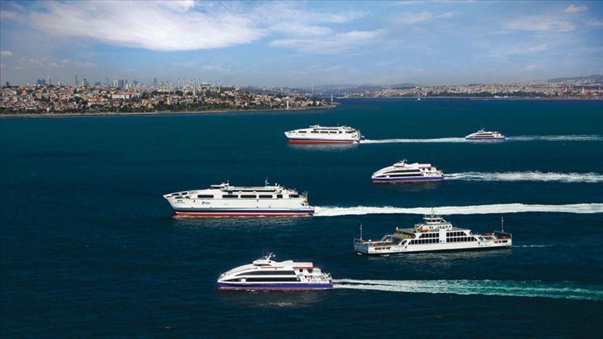 إسطنبول توقف رحلات سفن نقل الركاب
