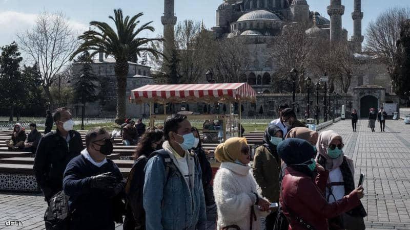 ارتفاع كبير بعدد ضحايا فيروس كورونا في تركيا