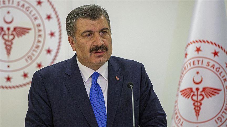 وزير الصحة التركي يكشف حصيلة جديدة لضحايا وإصابات كورونا