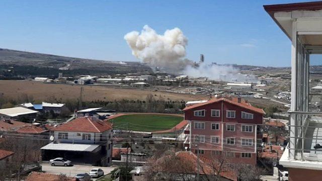 انفجار داخل مستودع وقود تابع لشركة صناعات دفاعية في أنقرة