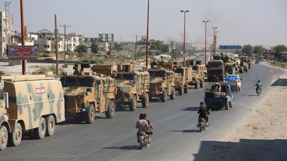 الجيش التركي يرسل أسلحة إلى إدلب لا تستخدم إلا بمواجهات عسكرية كبرى