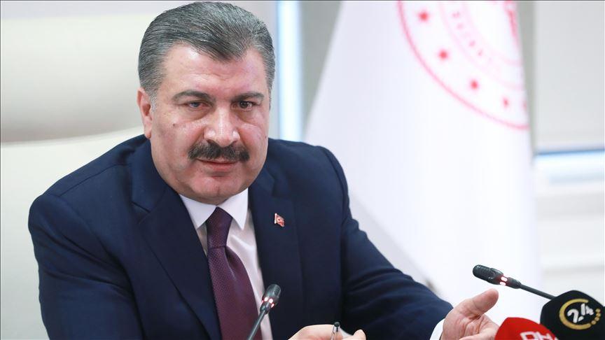 وزير الصحة التركي يعلن آخر حصيلة لوفيات وإصابات كورونا