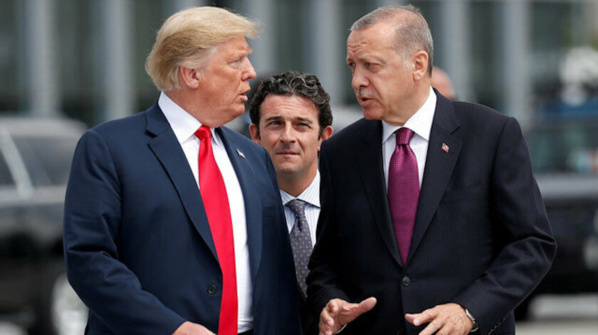"""أردوغان وترامب يتفقان على """"مواصلة التعاون"""""""