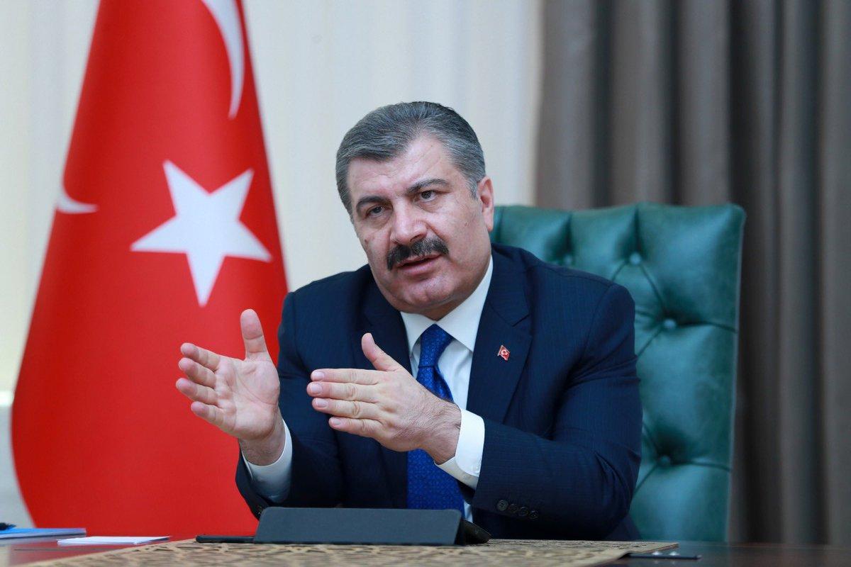 ليس الازدحام.. وزير الصحة التركي يكشف سبب ارتفاع عدد الإصابات بكورونا اليوم