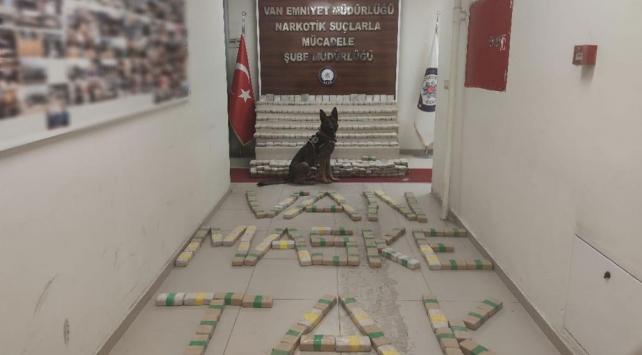السلطات التركية تضبط كميات كبيرة من الهيروين بولاية وان