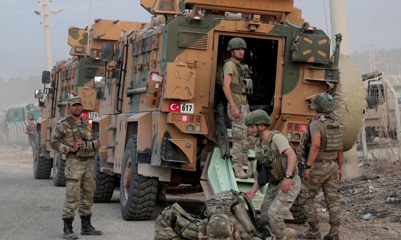 مقتل جندي تركي جراء إنفجار في إدلب