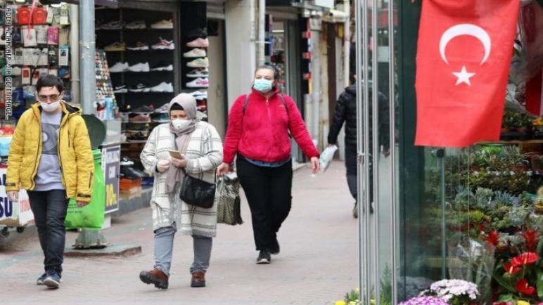 ولايات تركية جديدة تفرض ارتداء الكمامة في الأماكن العامة