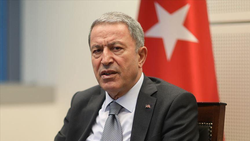 أكار: تركيا تبذل جهوداً لتأمين وقف إطلاق نار دائم في إدلب