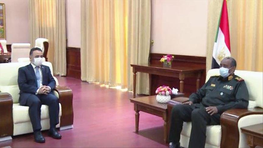 البرهان: علاقات السودان وتركيا متطورة بكافة المجالات