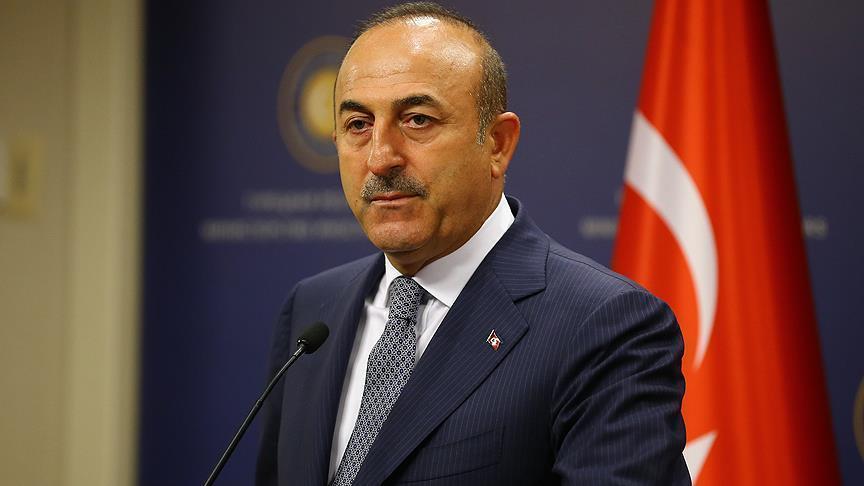 """جاويش أوغلو: """"أنتيفا"""" تقاتل ضد تركيا في سوريا"""