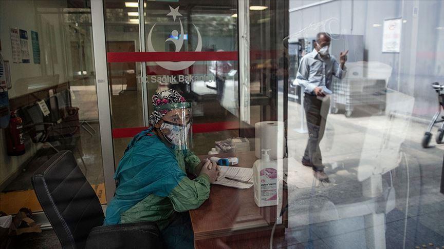 الحصيلة اليومية لأعداد وفيات وإصابات فيروس كورونا في تركيا