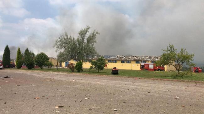 السلطات التركية تنشر حصيلة ضحايا انفجار مصنع للألعاب النارية في صقاريا