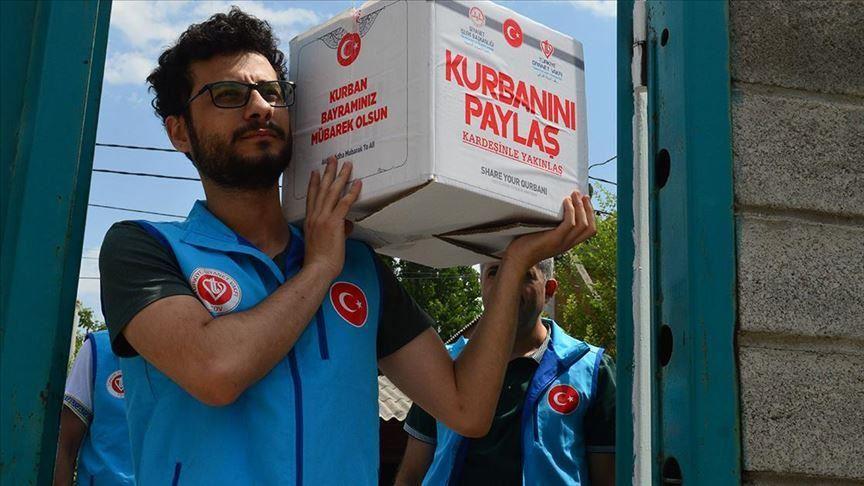 يستفيد منها 900 ألف سوري.. وقف الديانة التركي يعتزم توزيع الأضاحي في المحرر