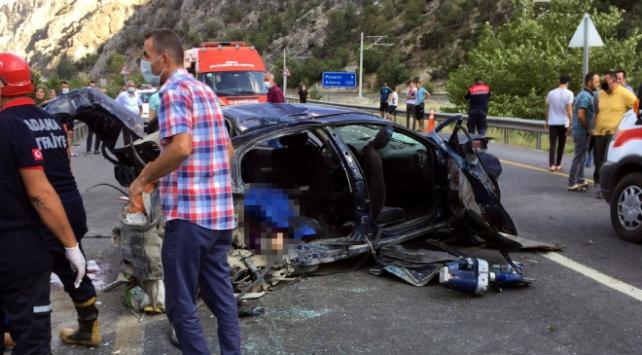 مقتل 4 أتراك و إصابة آخريَن بحادث مروع في ولاية أضنة