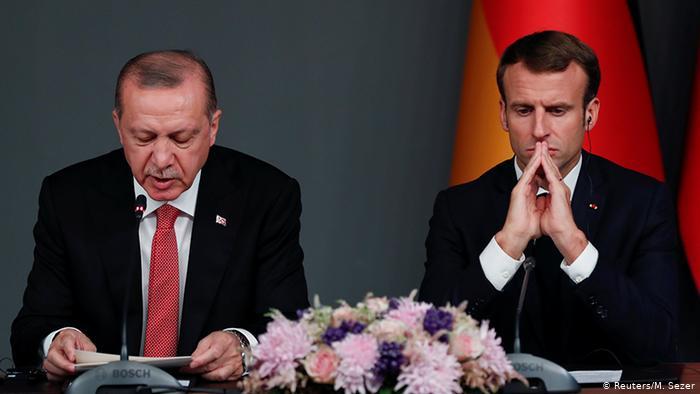 فرنسا تصعد شرق المتوسط وأردوغان يحذر من تجاهل الحقوق التركية