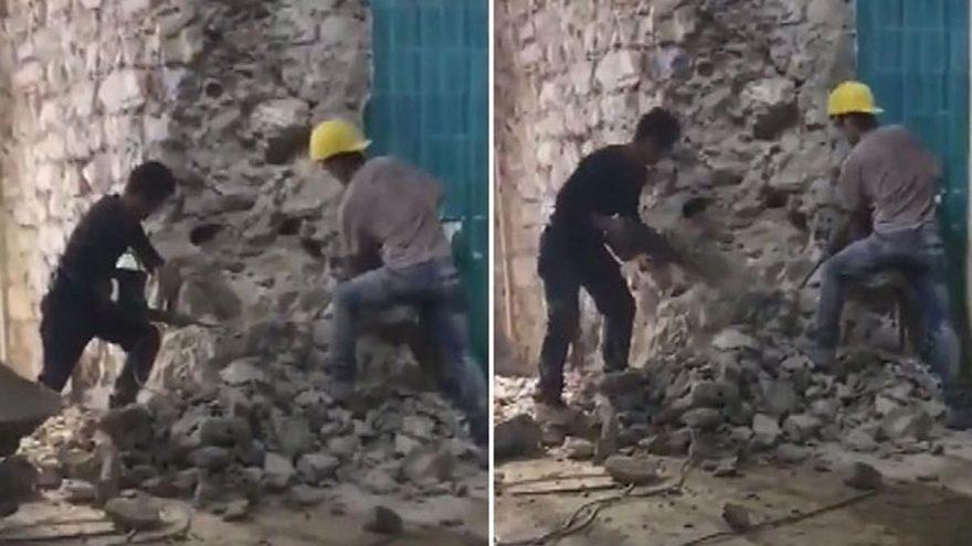 """غضب واسع في مواقع التواصل بسبب مقطع فيديو أثناء ترميم """"برج غلطة"""" التاريخي بإسطنبول"""
