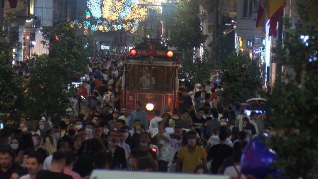 قلق واستياء.. تسليط الضوء على حال مدينة إسطنبول بعد إهمال تدابير كورونا
