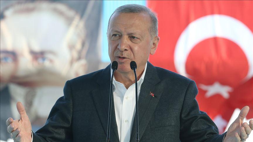 أردوغان يدعو أوروبا للحياد في شرق المتوسط