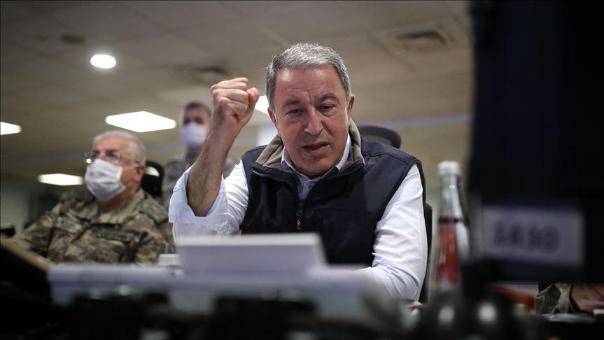 وزير الدفاع التركي: قبرص قضيتنا وسنواصل حماية شعبها