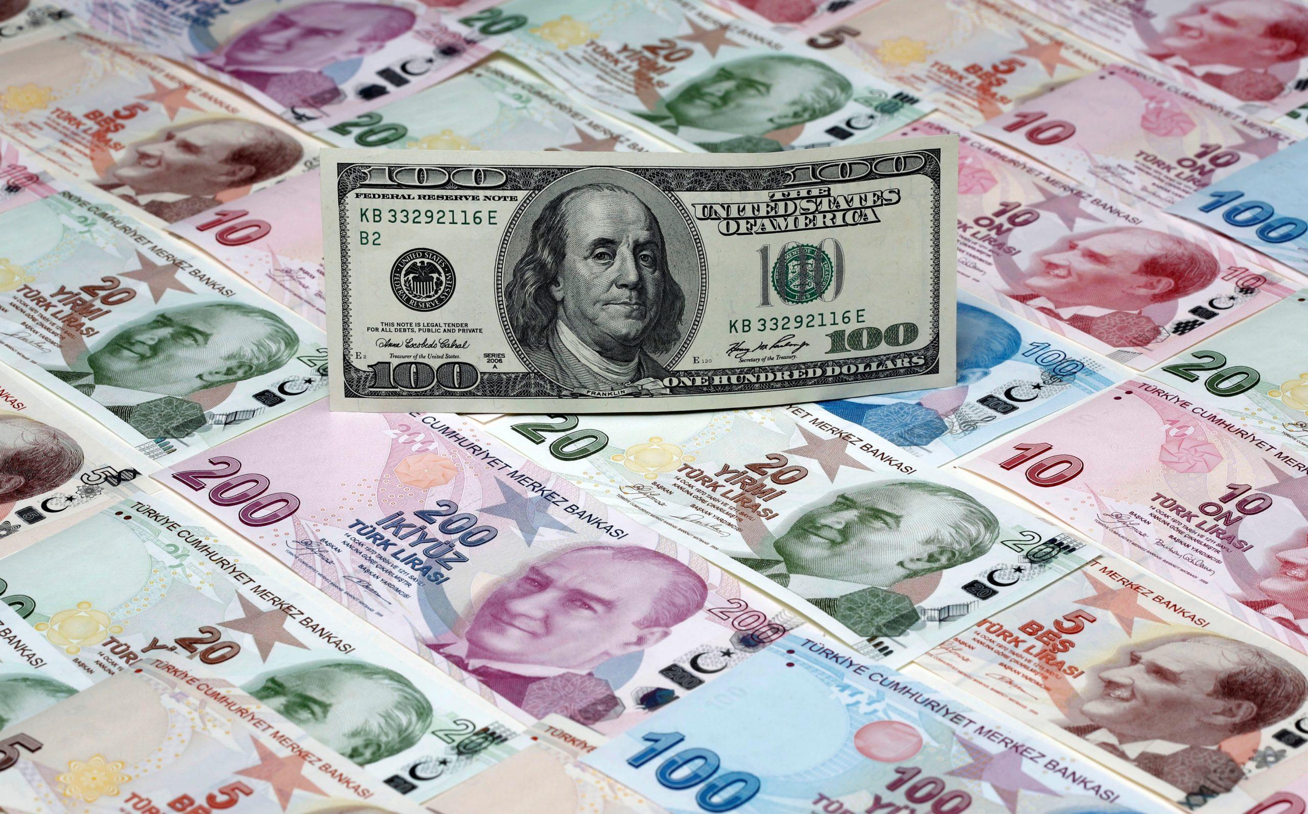 نزيف جديد بسعر الليرة التركية أمام الدولار.. وهذه أسعار الصرف