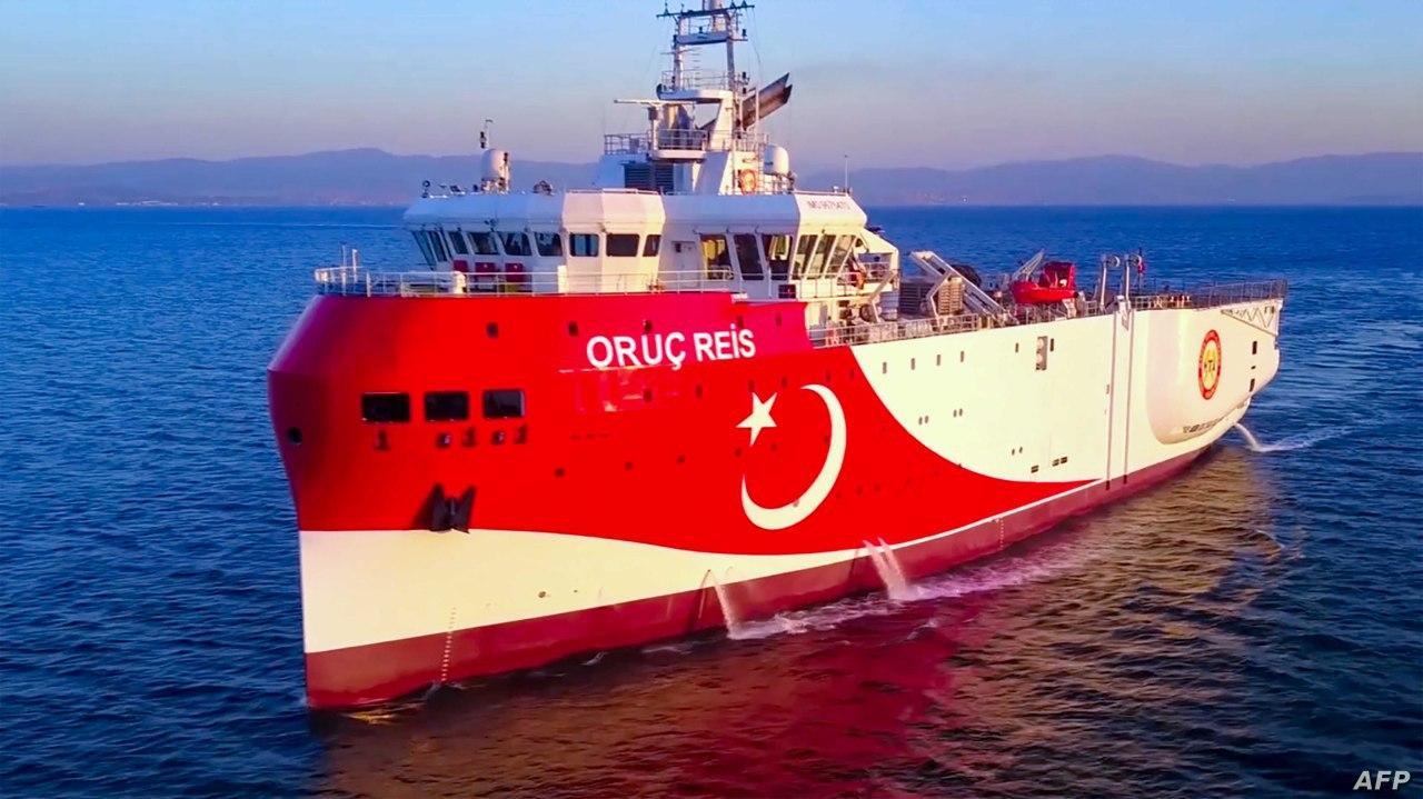 """هل انسحبت سفينة التنقيب التركية خوفاً من """"العصا الأوروبية""""؟!"""