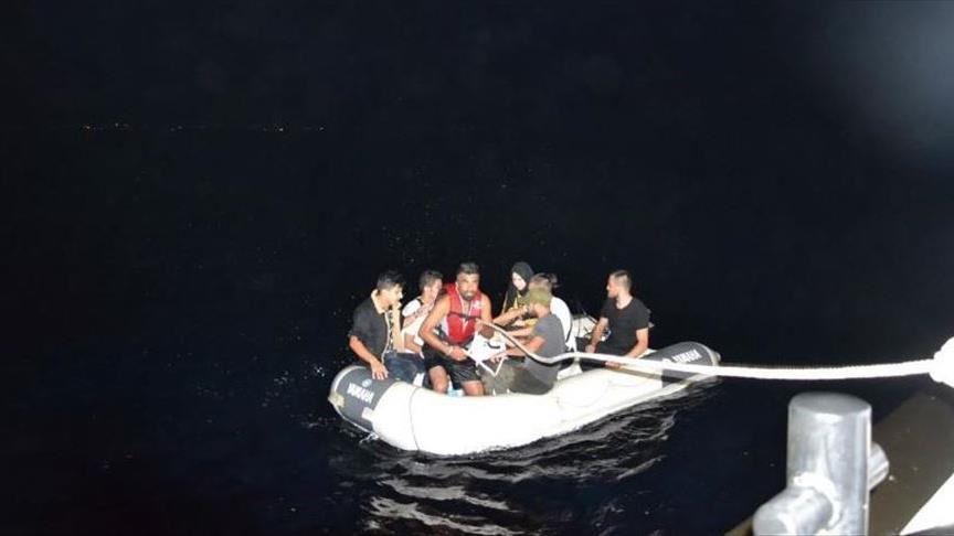 تركيا.. إنقاذ 9 طالبي لجوء في بحر إيجه