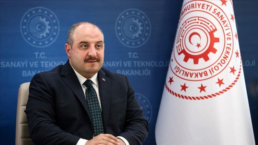 وزير الصناعة التركي: ماضون قدما في مجال الفضاء