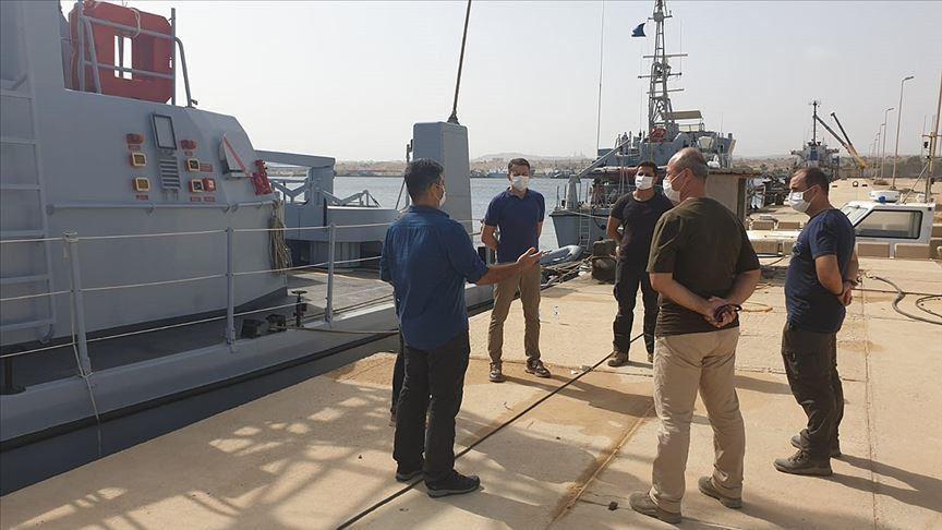 """""""الدفاع"""" التركية تدرب جنودا ليبيين على الدفاع تحت الماء"""