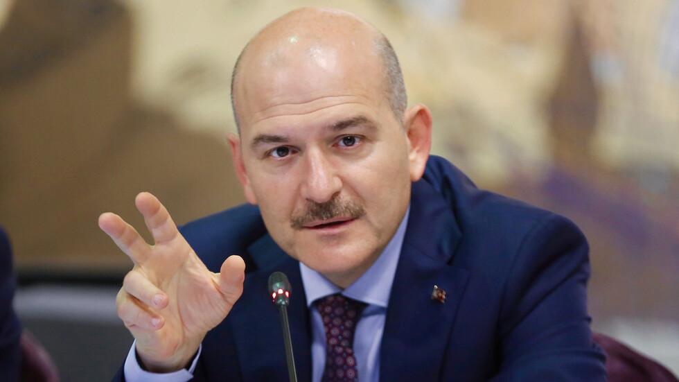 وزير الداخلية التركي يعلن رسمياً إصابته مع زوجته وابنته بكورونا