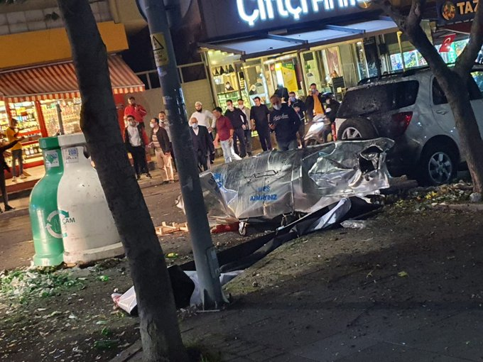 الأضرار مادية.. انفجار داخل حاوية قمامة في الشطر الآسيوي من مدينة إسطنبول