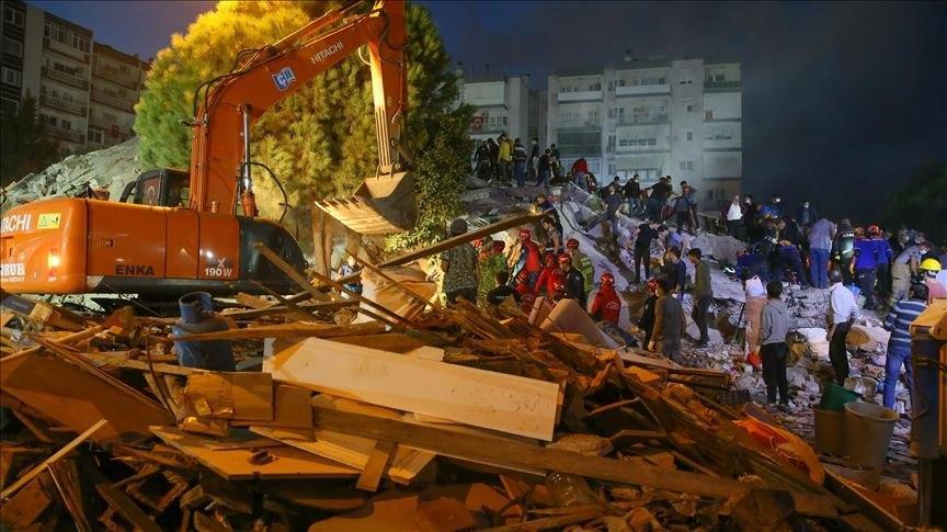 """زلزال إيجه.. مصرع شخصين بجزيرة """"ساموس"""" اليونانية"""