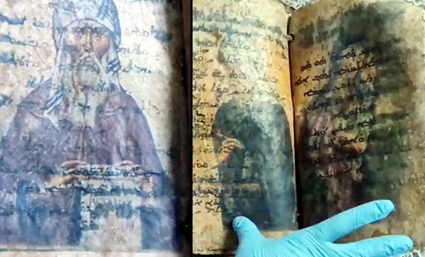 غازي عنتاب..السلطات التركية تضبط مخطوطة إنجيل أثرية مسروقة من متحف سوري