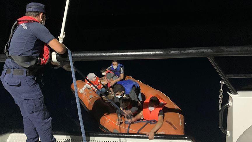 تركيا.. إنقاذ 18 طالب لجوء في بحر إيجه