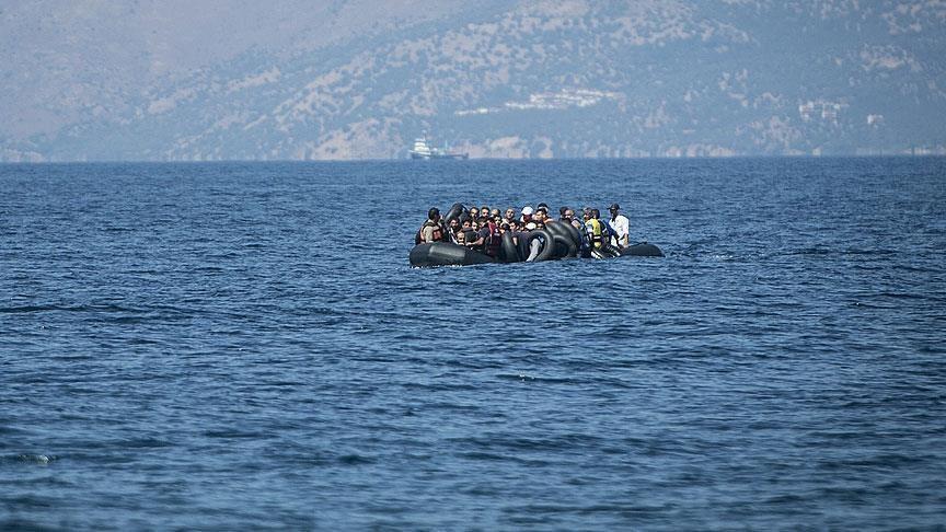 تركيا.. إنقاذ 28 مهاجراً قبالة ولاية آيدين