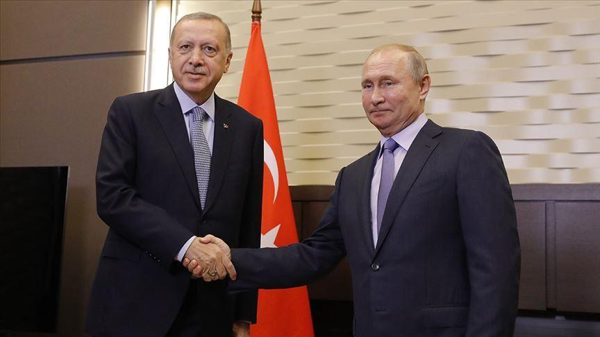بوتين: أردوغان يتبع سياسة خارجية مستقلة رغم الضغوط
