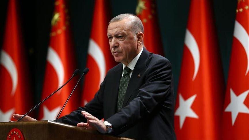 أردوغان: سنعزز حقوق الإنسان ومناخ الثقة باقتصادنا