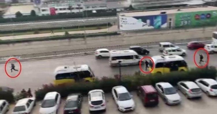 لصان يهربان من سيارة الشرطة في بورصة.. ما مصيرهما؟